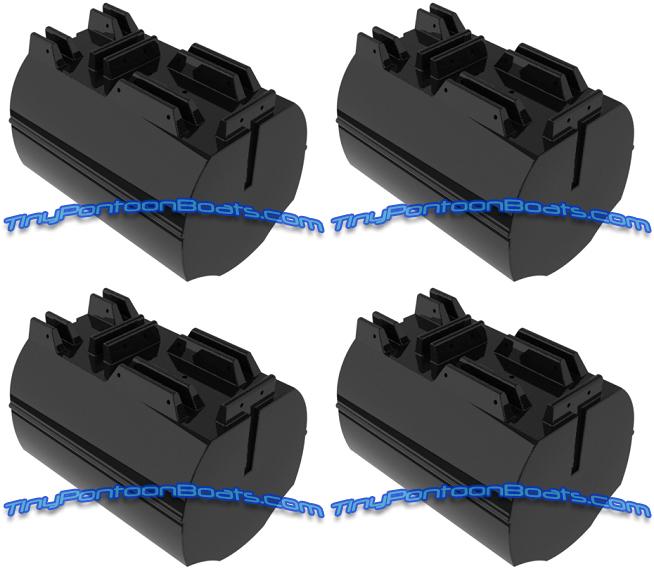 26 Quot Dia 36 Quot Long Hdpe Foam Filled Plastic Dock Raft Floats